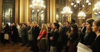 Les lauréats 2014 de la Fondation Vallet reçus en Sorbonne
