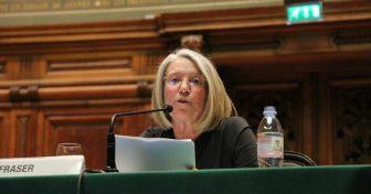 Nancy Fraser en Sorbonne pour la 38e conférence Marc Bloch