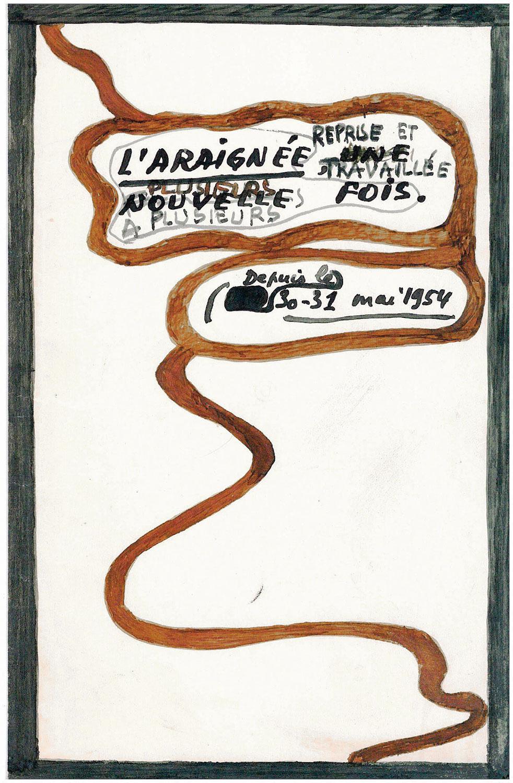 Francis Ponge, L'Araignée, manuscrit © BLJD
