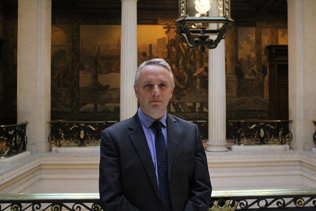 Benoît Forêt, en Sorbonne