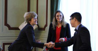 De brillants étudiants en médecine récompensés en Sorbonne