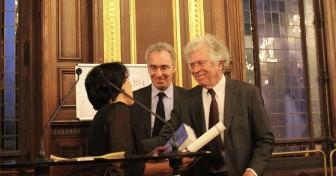 Sema Kiliçkaya reçoit le prix Seligmann 2014