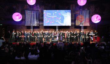Photos de groupe des lauréats des Prix de la Chancellerie 2016.