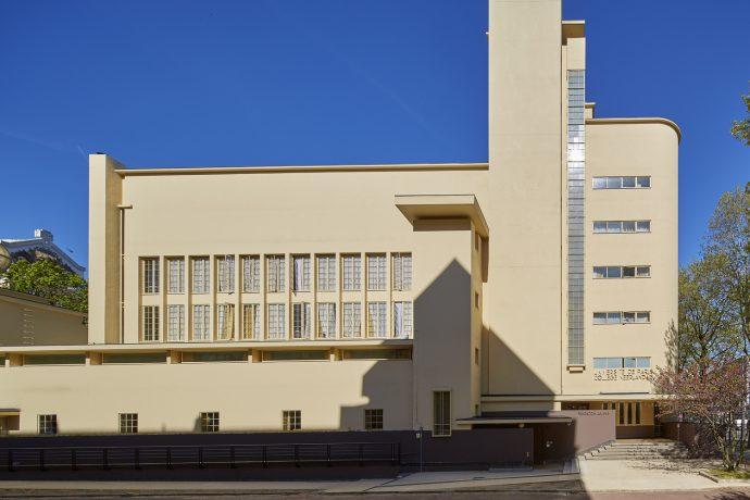 La façade du collège néerlandais. © Paul Raftery / CiuP