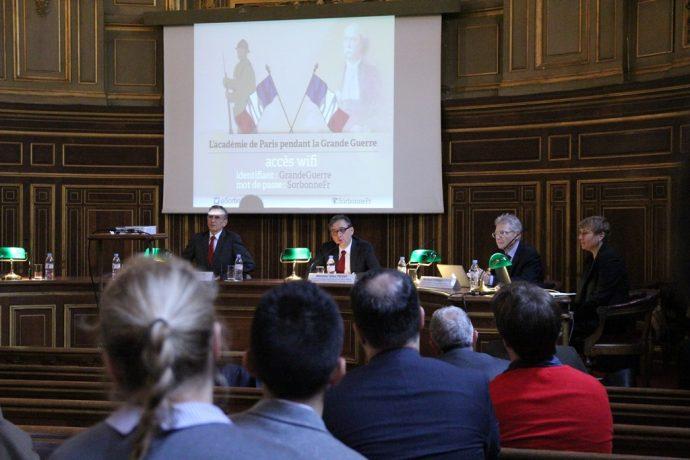 Gilles Pécout, recteur de la région académique Ȋle-de-France, recteur de l'académie de Paris, chancelier des universités de Paris a ouvert le colloque.