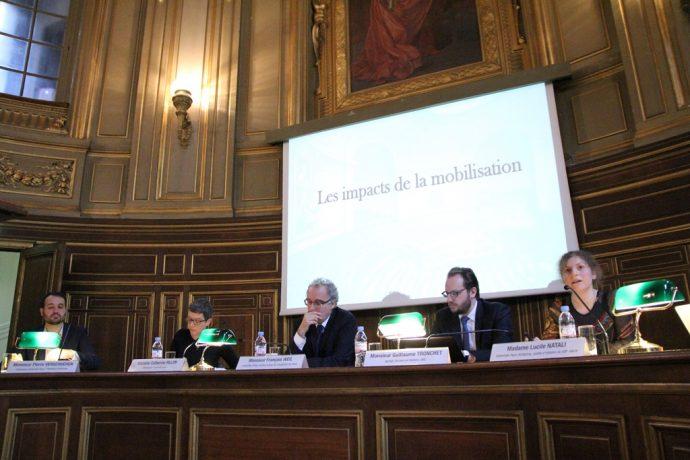 Séance sur le thème « Anciennes et nouvelles fonctions de l'Université de Paris en guerre »