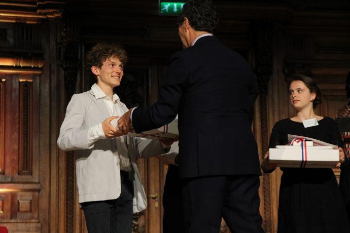 Octave Vasseur-Bendel quadruple lauréat du concours général 2018.