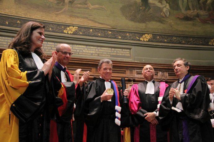 Doctorat Honoris Causa de Juan Manuel Santos