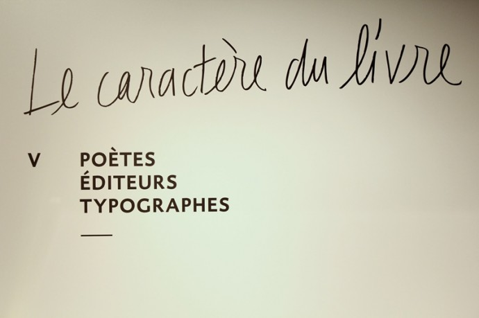 Une famille de poètes travaillant étroitement avec les éditeurs et les typographes, voire qui deviennent eux-mêmes hommes de l'art typographique, voit le jour au XXe siècle.
