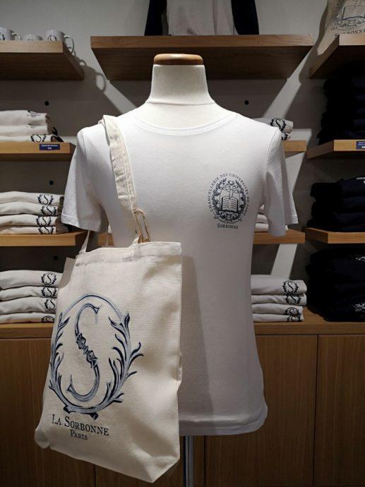 Tee-shirt et sac tissu 100% coton biologique
