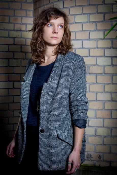 Fanny Taillandier, lauréate du prix Fénéon littéraire 2017. © JBalague