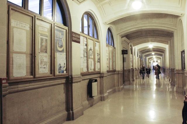 La galerie Gerson avant les travaux de restauration.