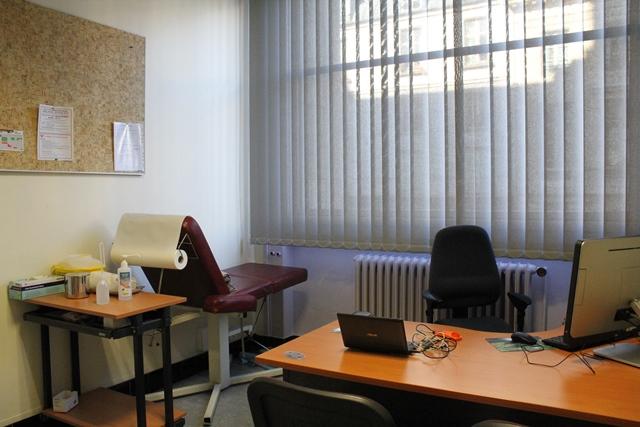 Une salle de consultation