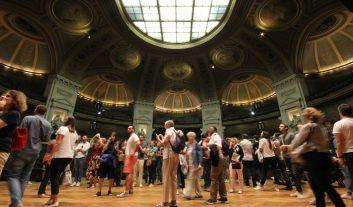 Le Grand Amphithéâtre en Sorbonne lors des JEP 2018