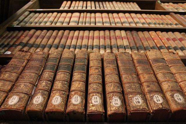 Des ouvrages conservés par L'École nationale des chartes