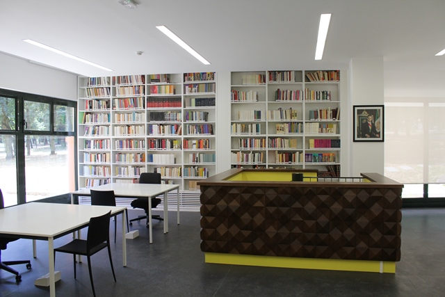 La bibliothèque Sor Juana Inés De La Cruz.