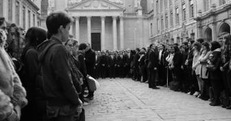 Hommage aux victimes des attentats du 13 novembre