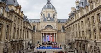 Entrée au Panthéon : hommage en Sorbonne