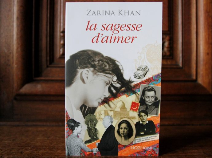 Le Prix Seligmann 2017 : La sagesse d'aimer, de Zarina Khan, aux édition Hozhoni