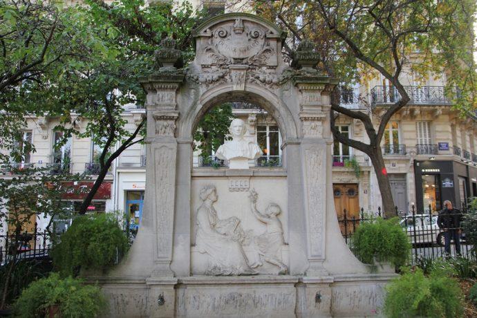 Monument en l'honneur d'Octave Gréard square Paul Painlevé