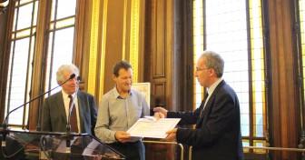 Hugues Lagrange reçoit le 10e prix Seligmann contre le racisme