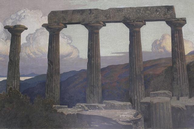 Le Temple (détail)