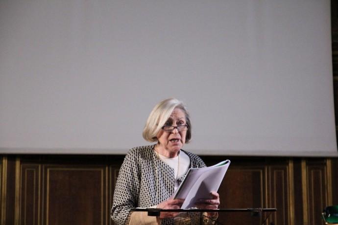 Florence Delay, membre de l'Académie française.