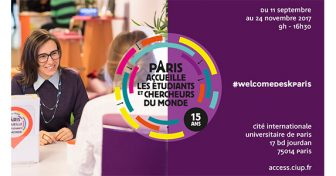 Welcome Desk Paris : un guichet d'accueil unique pour les étudiants et chercheurs étrangers à la Ciup