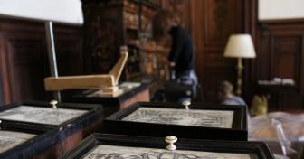 L'étude du mobilier du salon Richelieu confiée à des élèves de l'Institut National du Patrimoine