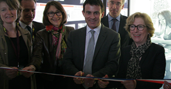 Inauguration de L/OBLIQUE à la Cité internationale universitaire de Paris