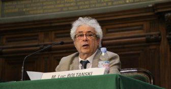Luc Boltanski en Sorbonne pour la 39e conférence Marc Bloch