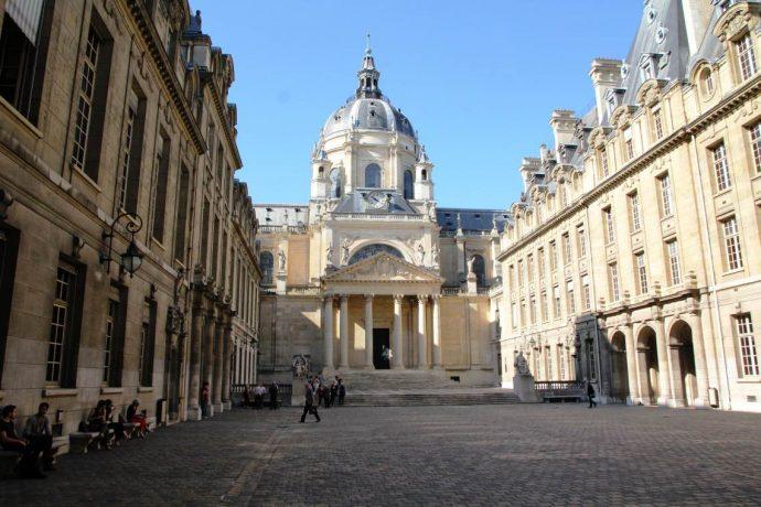 La Cour d'Honneur en Sorbonne.