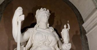 La statue de la République restaurée