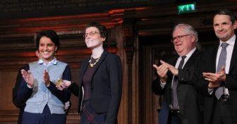 Claire Voisin reçoit la médaille d'or 2016 du CNRS