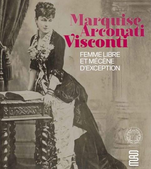 Photos d'archive de la marquise Arconati Visconti dans le cadre de l'exposition au Musée des Arts décoratifs intitulée « Marquise Arconati Visconti, femme libre et mécène d'exception », co-organisée par la Chancellerie des universités de Paris et le MAD.