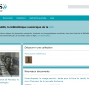 Capture d'écran de la page d'accueil de NuBIS