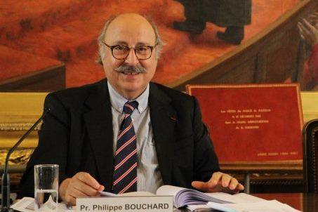 Le Pr. Philippe Bouchard, membre de l'Académie nationale de Médecine, président scientifique du jury du legs Poix de la Chancellerie des universités de Paris.
