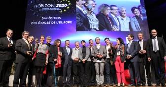 Remise des trophées Étoiles de l'Europe 2015