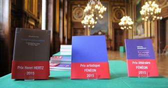 Remise des Prix Hertz et Fénéon 2015