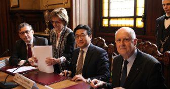 Donation de la Maison de la Corée à la Chancellerie des universités de Paris