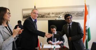 L'extension de la maison de l'Inde à la CiuP donnée aux universités de Paris