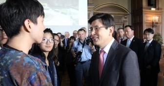 Le Premier ministre coréen visite la CiuP