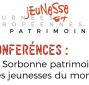Visuel pour le cycle de conférences La Sorbonne patrimoine des jeunesses du monde
